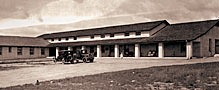 Historical hospital building